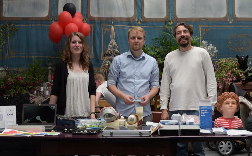 Kunstaugen-Workshop für Groß und Klein